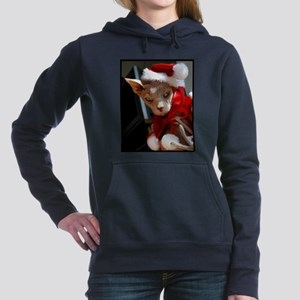 xmas_cat Women's Hooded Sweatshirt