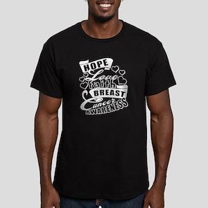 Hope Love Faith Breast Cancer Awareness T T-Shirt