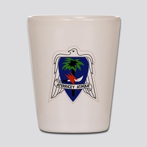 551st Airborne Infantry Regiment Milita Shot Glass