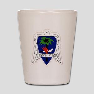 551st Airborne Infantry Regiment Milita Shot Glass