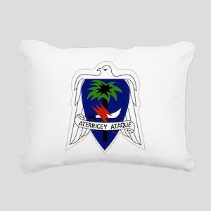 551st Airborne Infantry Rectangular Canvas Pillow
