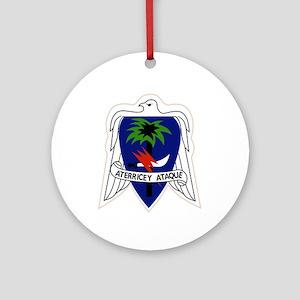 551st Airborne Infantry Regiment Ornament (Round)