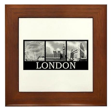 London gray Framed Tile