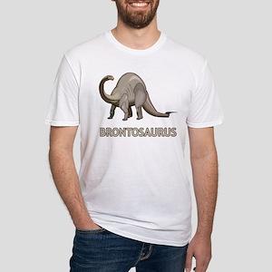 Brontosaurus Fitted T-Shirt