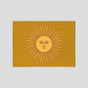 Sol De Mayo 5'x7'area Rug