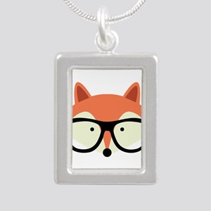 Hipster Red Fox Necklaces