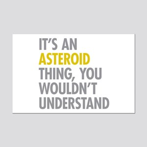 Its A Asteroid Thing Mini Poster Print