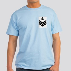 RAF Flight Sergeant<BR> Blue T-Shirt