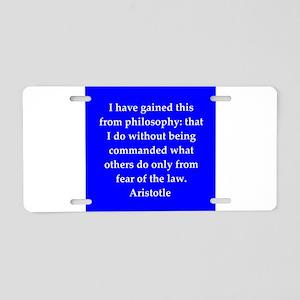 31 Aluminum License Plate