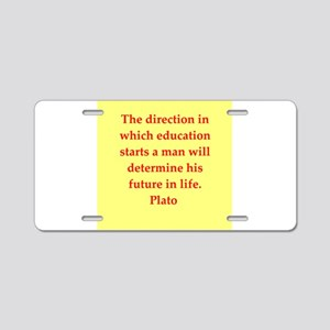 59 Aluminum License Plate