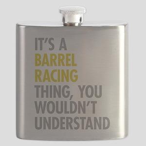 Barrel Racing Thing Flask
