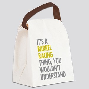 Barrel Racing Thing Canvas Lunch Bag