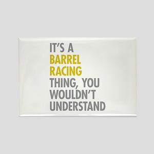 Barrel Racing Thing Rectangle Magnet