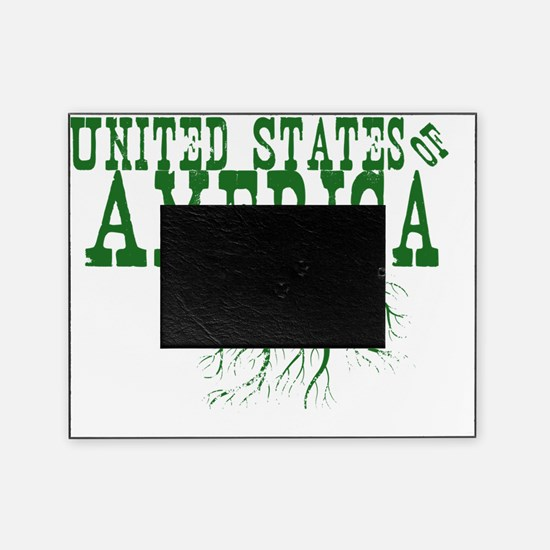 United States of America Roots Picture Frame