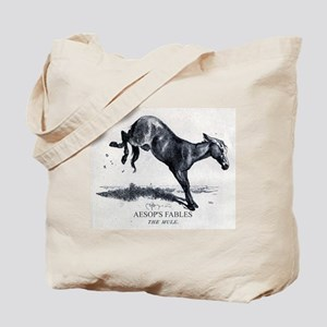 Harrison Weir - The Mule - Aesop - 1867 Tote Bag