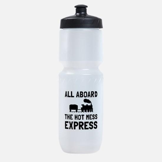 Hot Mess Express Sports Bottle