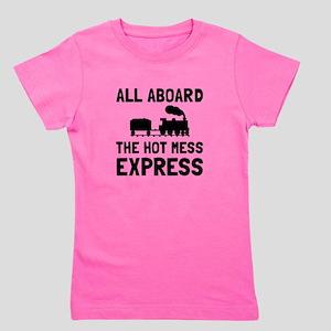 Hot Mess Express Girl's Tee