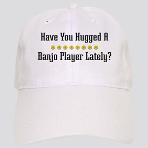 Hugged Banjo Player Cap