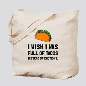 Tacos Emotions Tote Bag