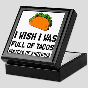 Tacos Emotions Keepsake Box