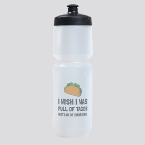 Tacos Emotions Sports Bottle