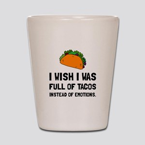 Tacos Emotions Shot Glass