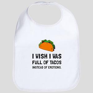 Tacos Emotions Bib