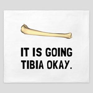 Tibia Okay King Duvet