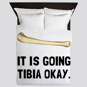 Tibia Okay Queen Duvet