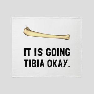 Tibia Okay Throw Blanket