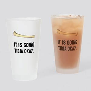 Tibia Okay Drinking Glass