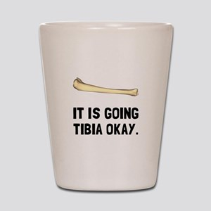 Tibia Okay Shot Glass