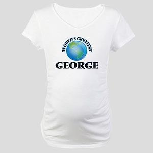 World's Greatest George Maternity T-Shirt
