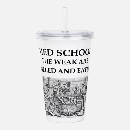 med,school Acrylic Double-wall Tumbler