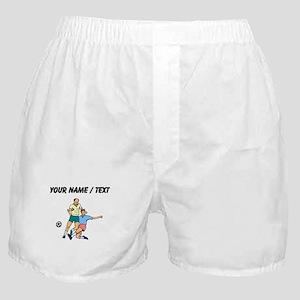 Custom Slide Tackle Boxer Shorts