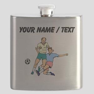 Custom Slide Tackle Flask