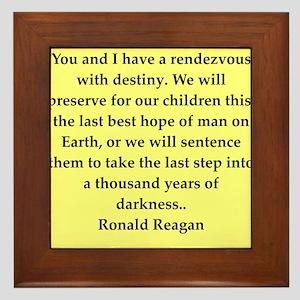 reagan15 Framed Tile
