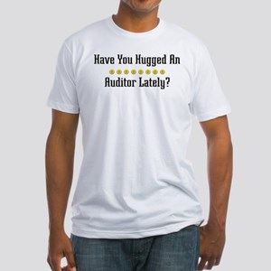 Hugged Auditor Fitted T-Shirt
