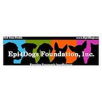 Epi4dogs Bumper Sticker
