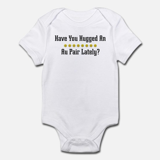 Hugged Au Pair Infant Bodysuit
