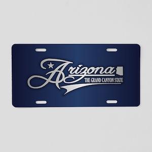 Arizona State of Mine Aluminum License Plate