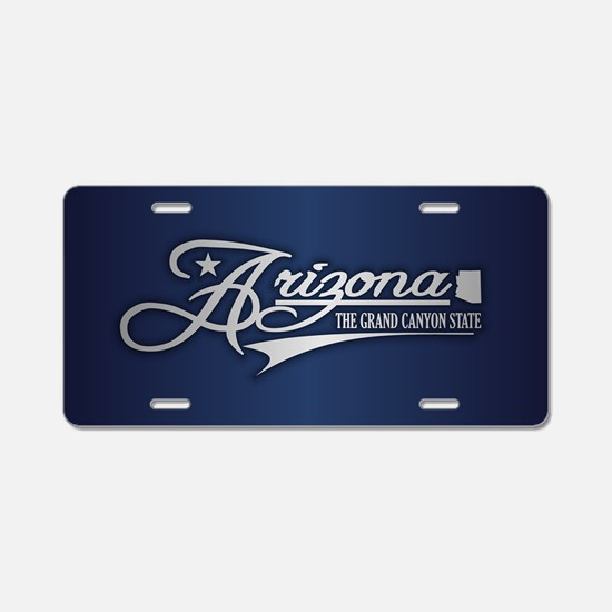Arizona State of Mine Aluminum License Plate