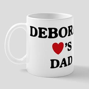 Deborah loves dad Mug