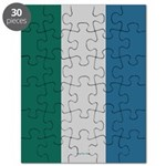 Silver Spring Stripes Puzzle