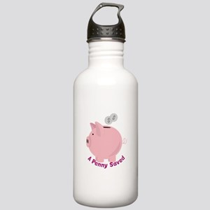 Penny Saved Water Bottle