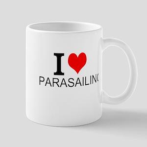 I Love Parasailing Mugs