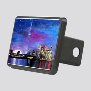 TorontoToronto Skyline at Rectangular Hitch Cover