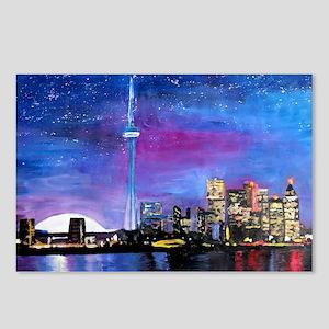 TorontoToronto Skyline at Postcards (Package of 8)