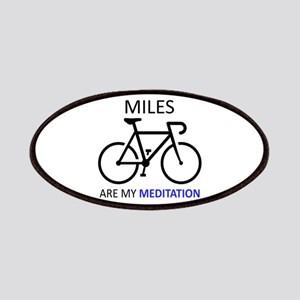 Miles Are My Meditation Patch
