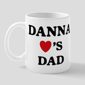 Danna loves dad Mug